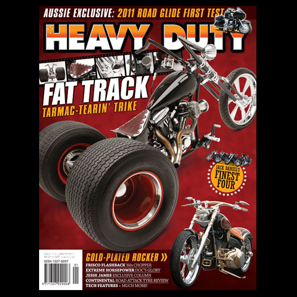 SCREAM IN BLUE – Heavy Duty Issue 114